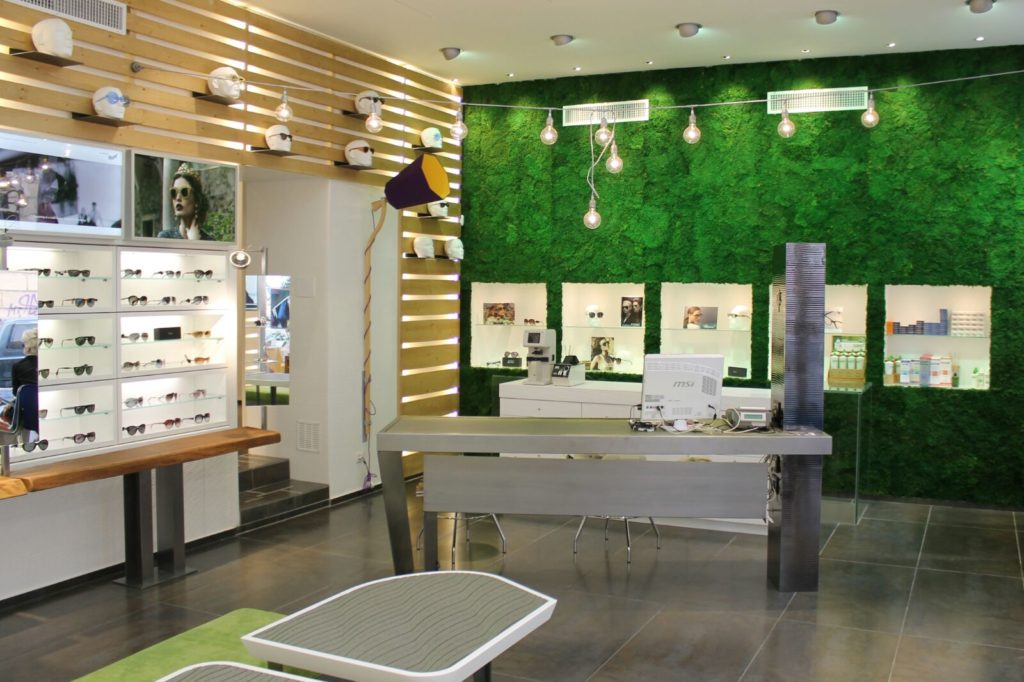 Eyeglasses Store - Rimini, Italy - Bilune Studio