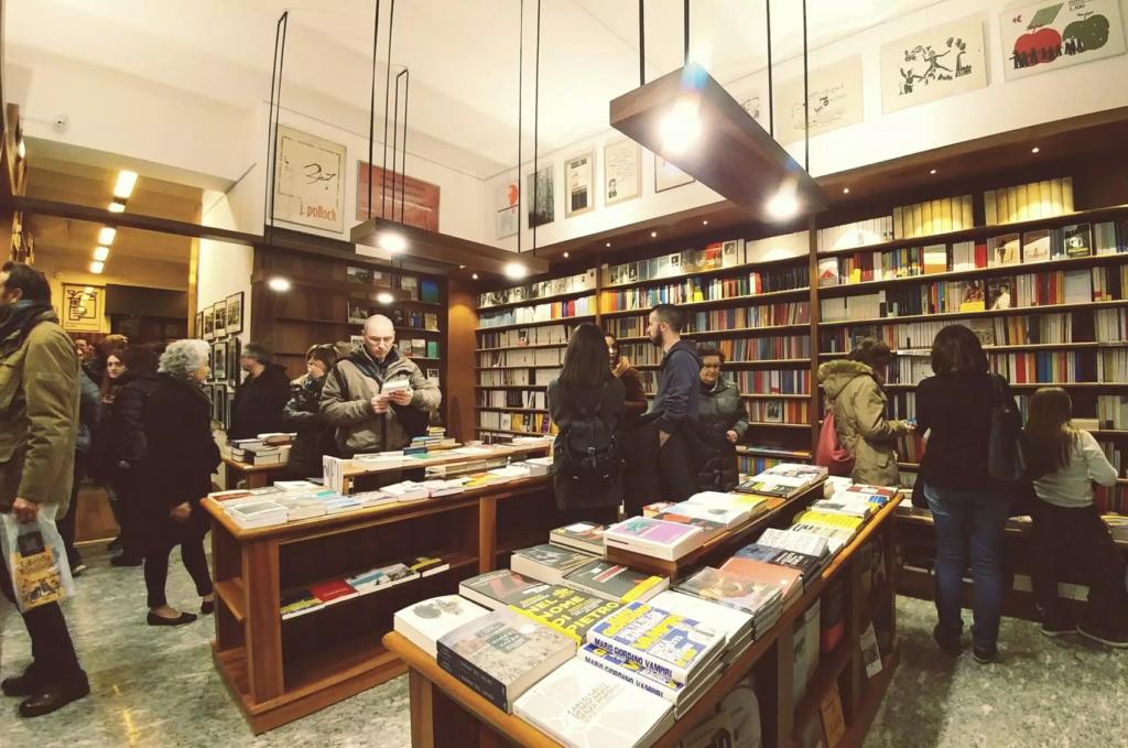 Bookstore - Rimini, Italy - Arch. Anton Luca Nannini